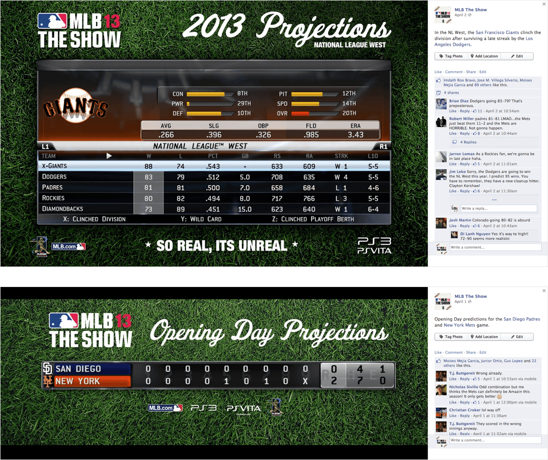 "BLITZ Case Study for MLB The Show - Fantasy-Ready Projections to Excite ""Seamheads"""