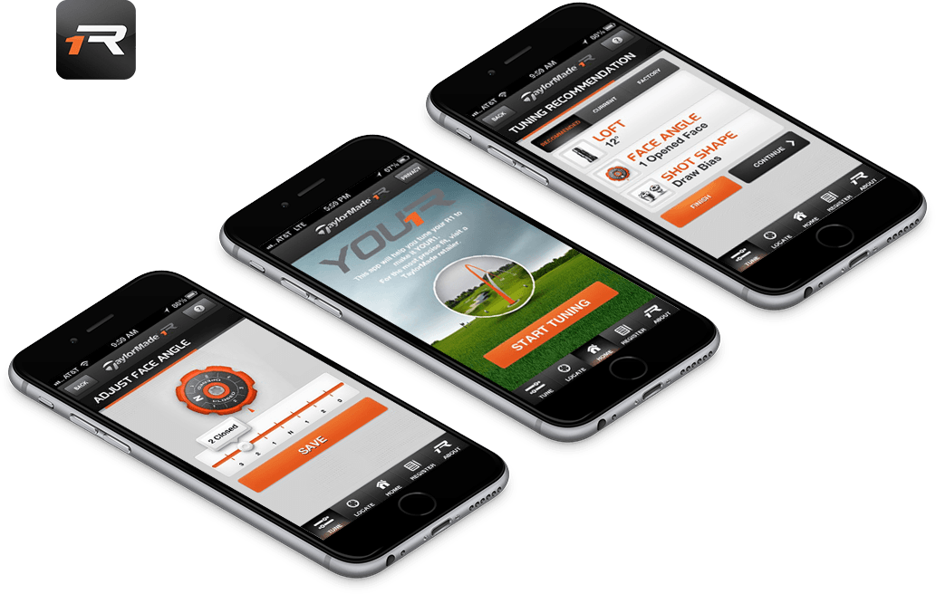 TaylorMade R1 Mobile App